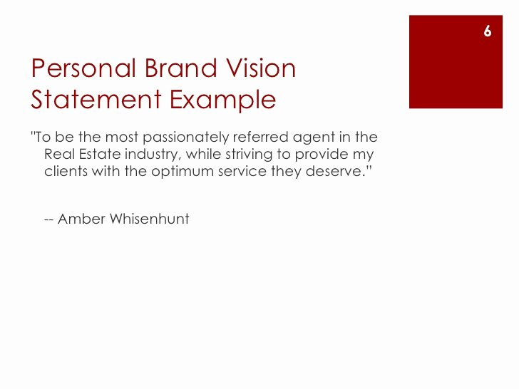 How to Write My Personal Vision Statement