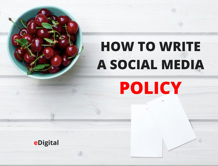 How to Write the Best social Media Policy Guidelines