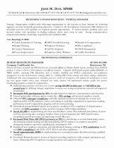 Human Resource Manager Resume Sample