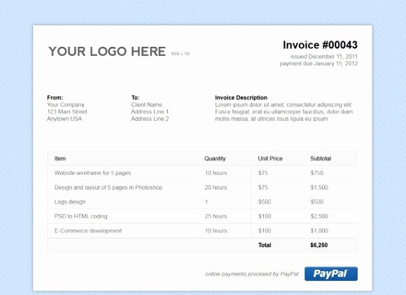 Html Email Invoice Template 11 Quick Tips for HTML Email