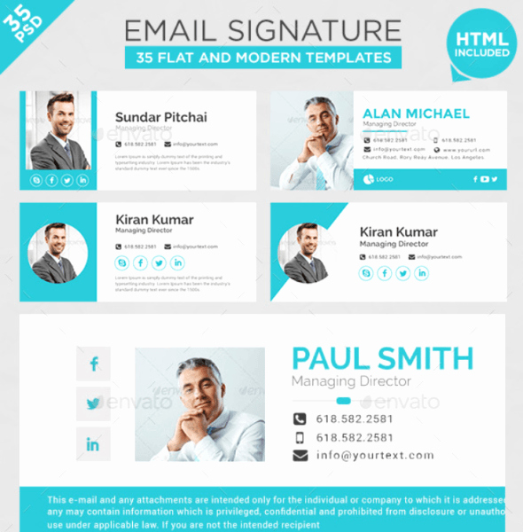 Html Email Signature for $5 Seoclerks