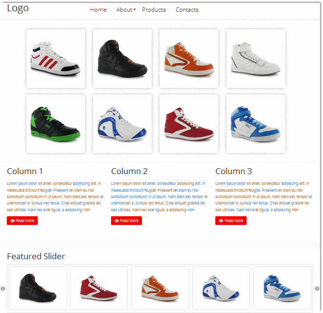 Html5 Product Catalog Template Templates Dmxzone