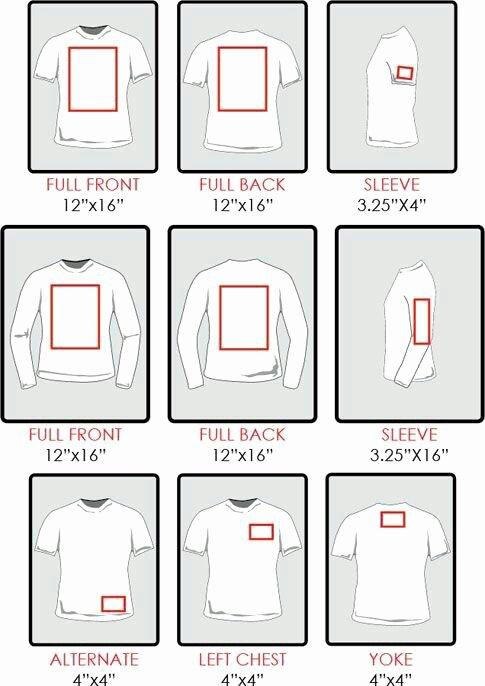 Htv Sizing for Shirts How Big Do I Make My Image
