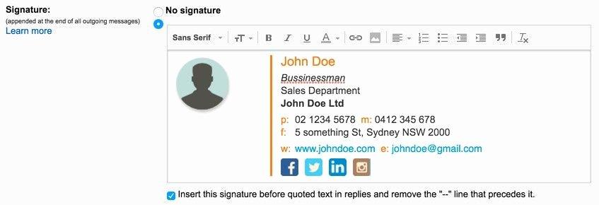Hubspot Free Email Signature Generator