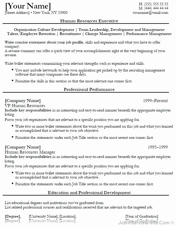 Human Resources assistant Resume Sarahepps