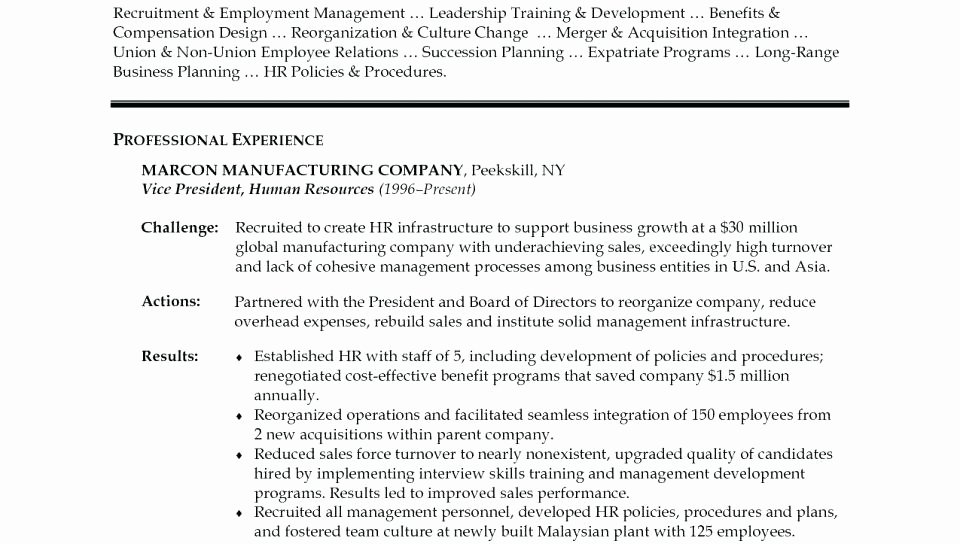Human Resources Generalist Cover Letter – Amere