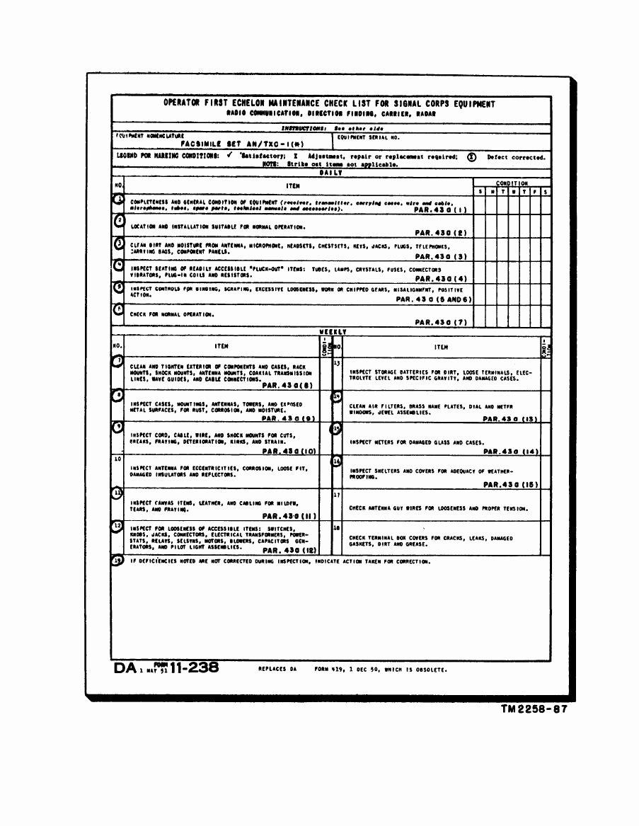 Hvac Maintenance Checklist form orncastle