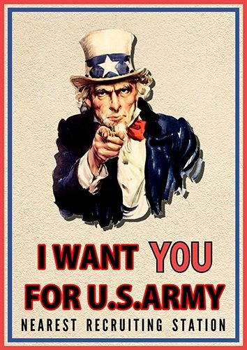 I Want You Poster Poster Templates and I Want You On