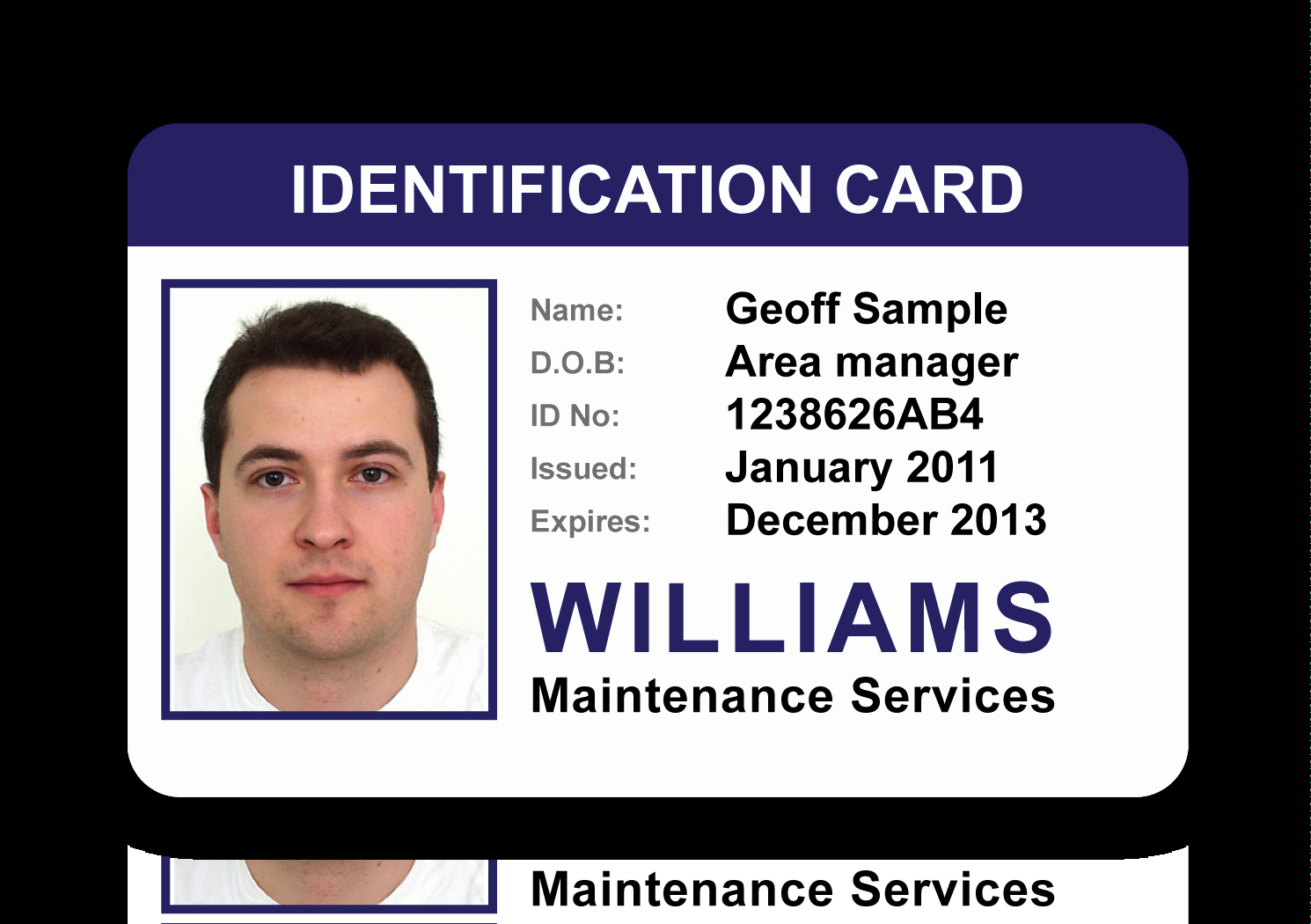 Id Card Gallery An Image to View Larger Size – Go