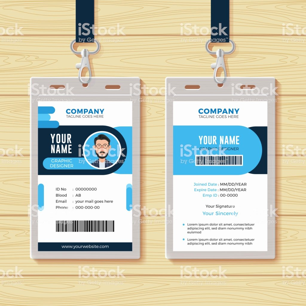 Id Card Template Free Download Freemium Templates