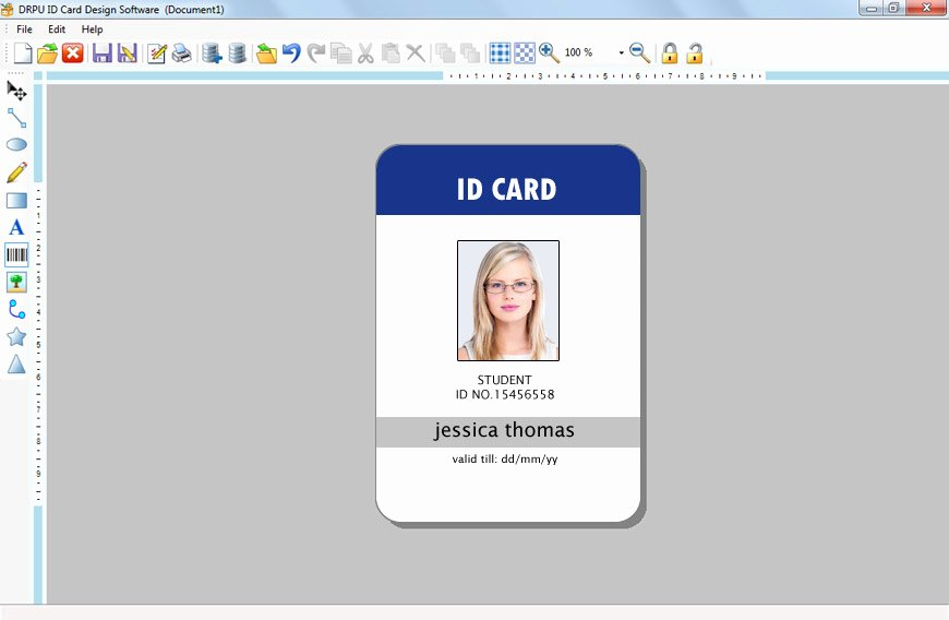 Id Maker software Creates Pany Employees Student