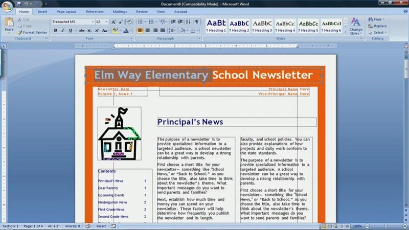Ideas Collection How to Make A Newspaper Template