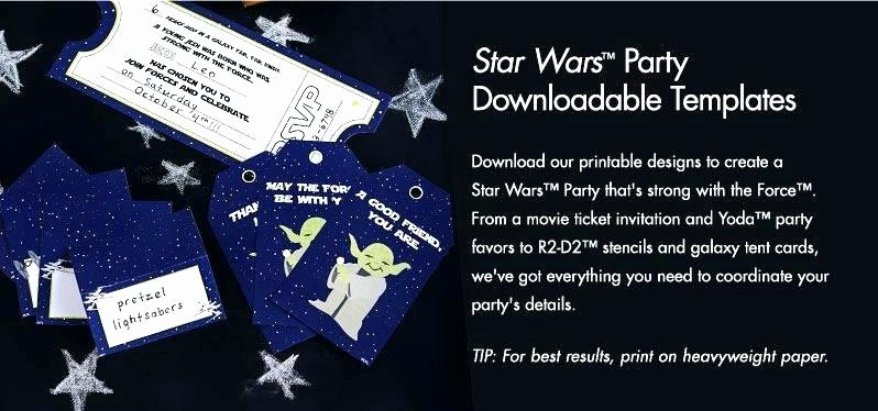 Ideas Star Wars Birthday Party Invitations for Invitation