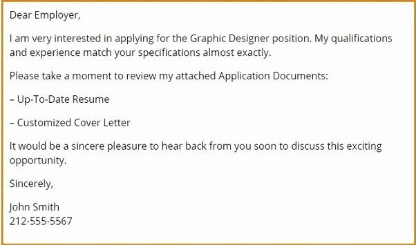 If I Send An Email to A Recruiter What Should I Write