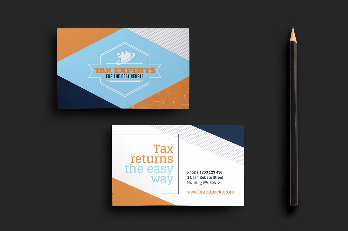 illustrator business card template