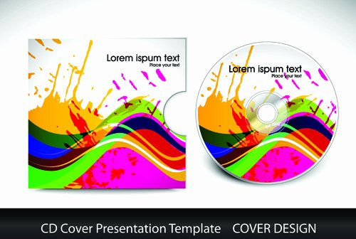 Illustrator Cd Cover Template Free Vector