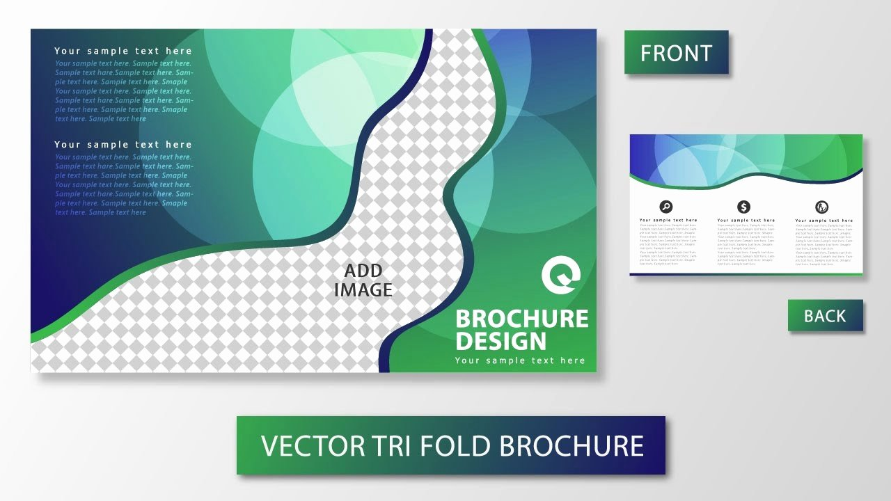 Illustrator Tutorial Tri Fold Brochure Design