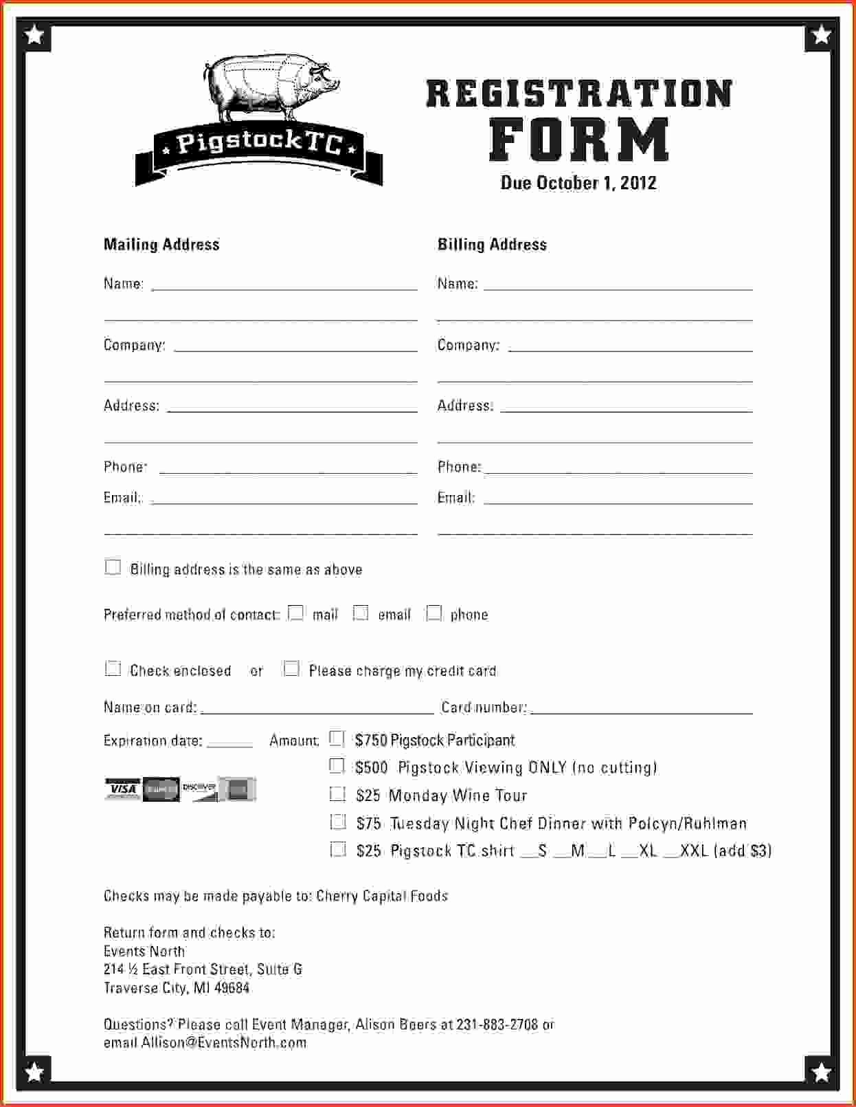 Image Result for Vendor Registration form Template