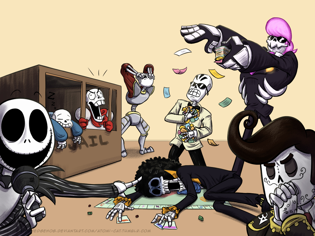 Imagine Your Skeletons Like Draw the Squad