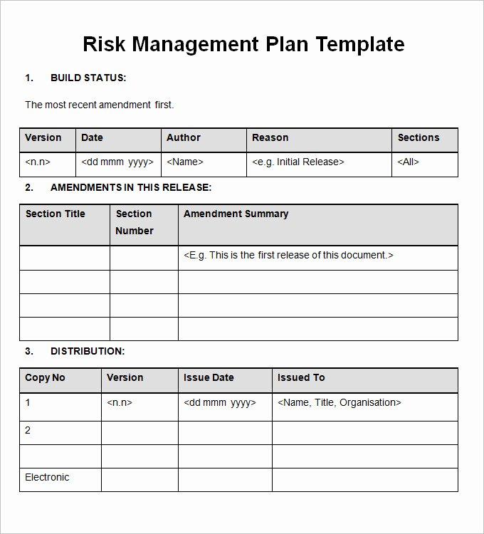Importance Of Having A Risk Management Plan