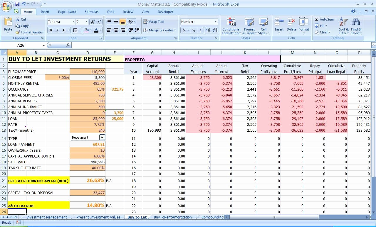 In E and Expenditure Template for Small Business 1 Excel
