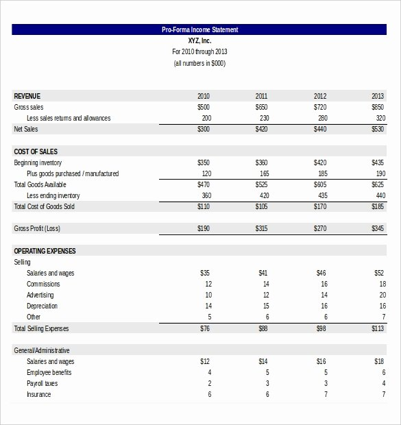 In E Statement Templates – 23 Free Word Excel Pdf