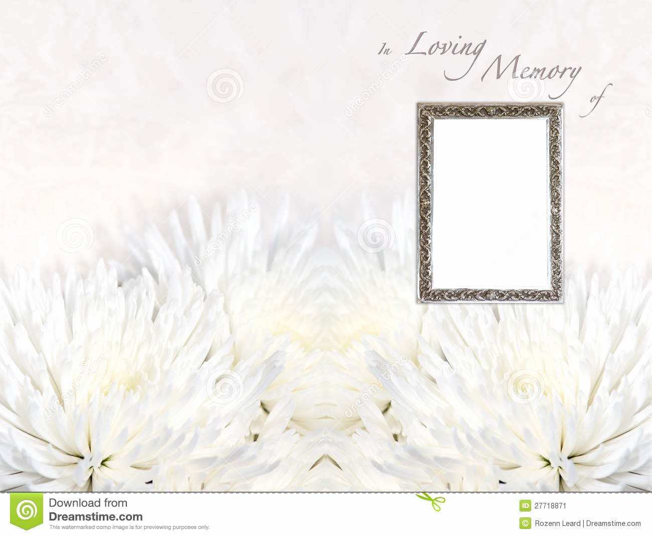 In Loving Memory Templates Gallery Template Design Ideas