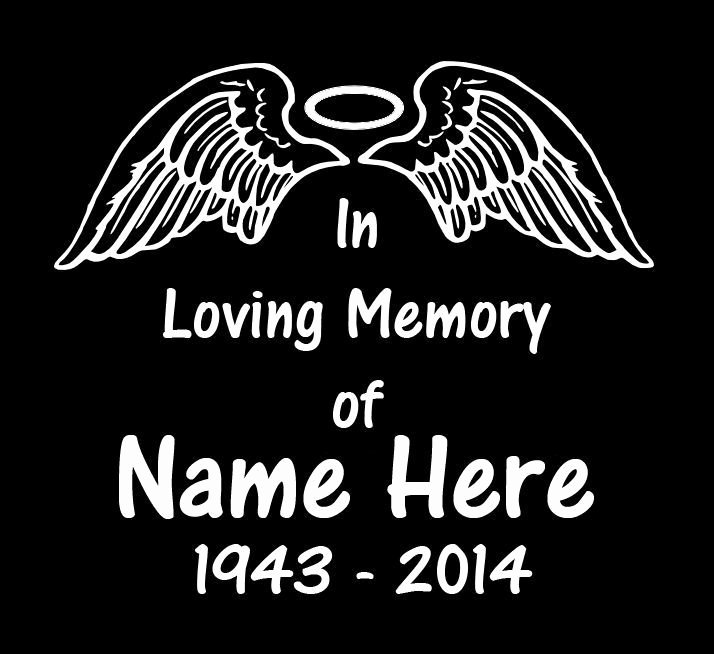 In Memory Car Decals Google Search
