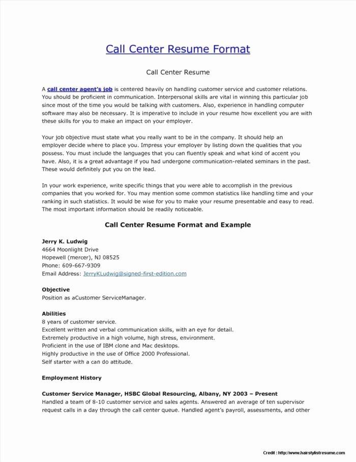 Inbound Call Center Sales Resume Resume Resume