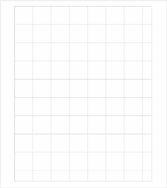 Inch Printable Graph Paper Template Plain Literals
