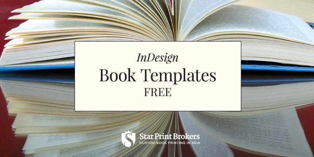 Indesign Book Templates — Free Instant Indesign Templates Amwriting Selfpublish