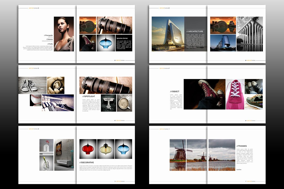 Indesign Brochure Template Brochure Templates On