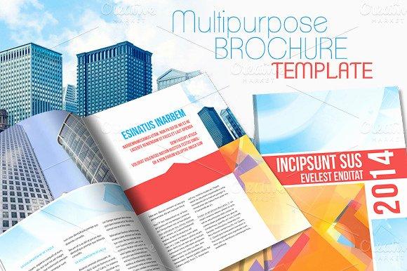 Indesign Brochure Template V2 Brochure Templates On