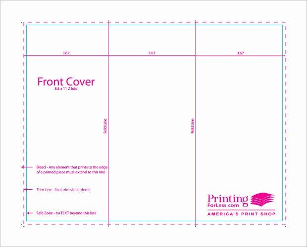 Indesign Brochure Templates Free Tri Fold Csoforumfo