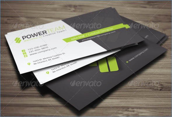 Indesign Business Card Template Free