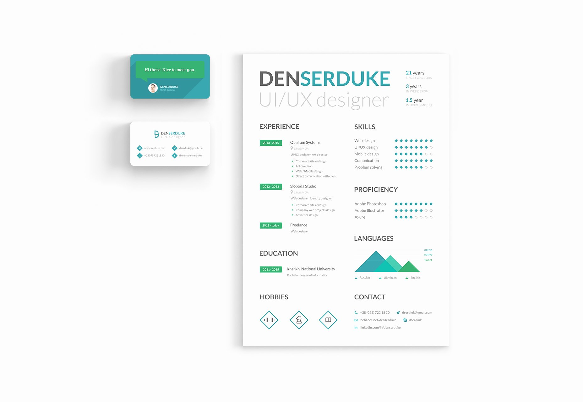 Indesign Business Card Templates