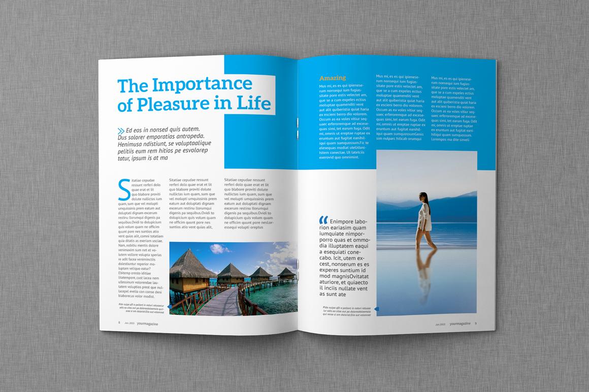 Indesign Magazine Bundle Save Magazine Templates
