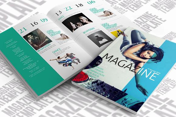 Indesign Magazine Template Magazine Templates On