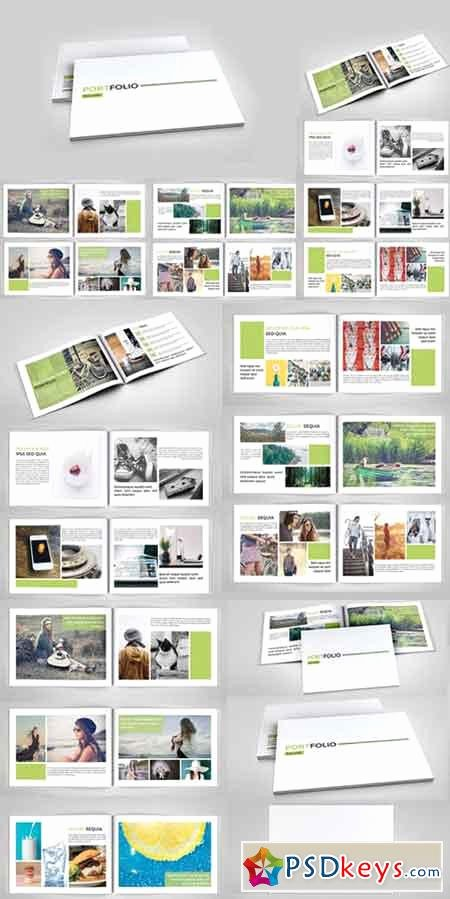 Indesign Portfolio Brochure V127 Free Download – Latter