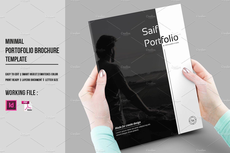 Indesign Portfolio Brochure V430 Brochure Templates