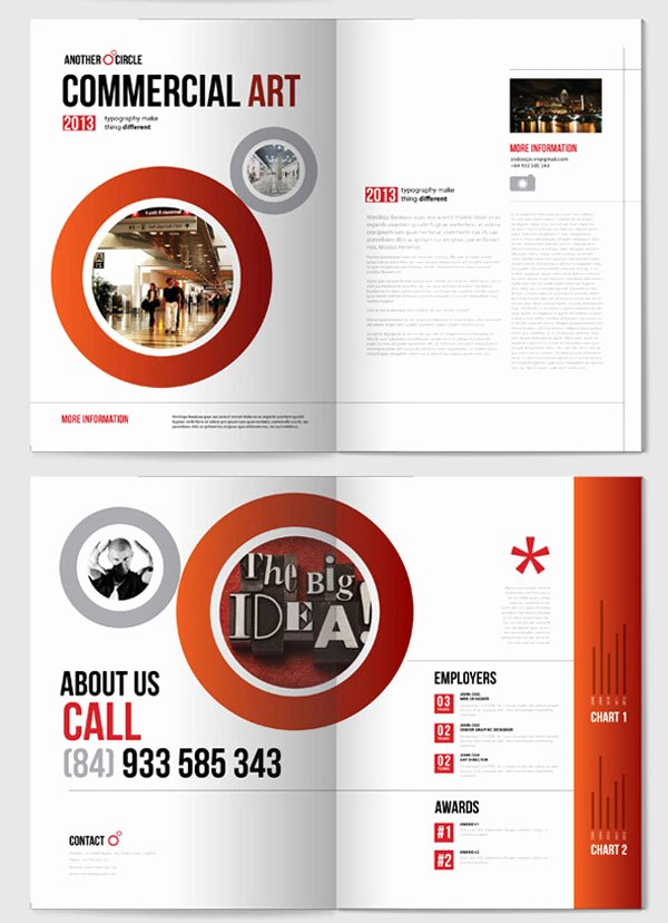 Indesign Templates Brochure