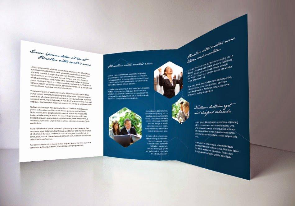 Indesign Tri Fold Brochure Template Free Csoforumfo