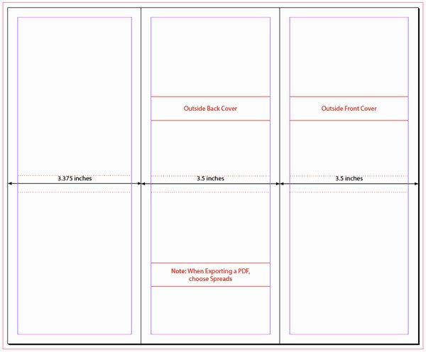 Indesign Trifold Brochure Template Csoforumfo