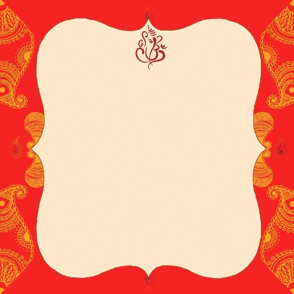 Indian Wedding Invitations Designs Templates