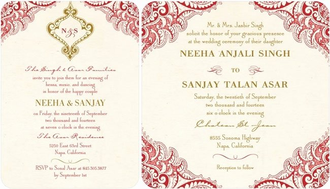 Indian Wedding Invitations for Nice Wedding Invitations