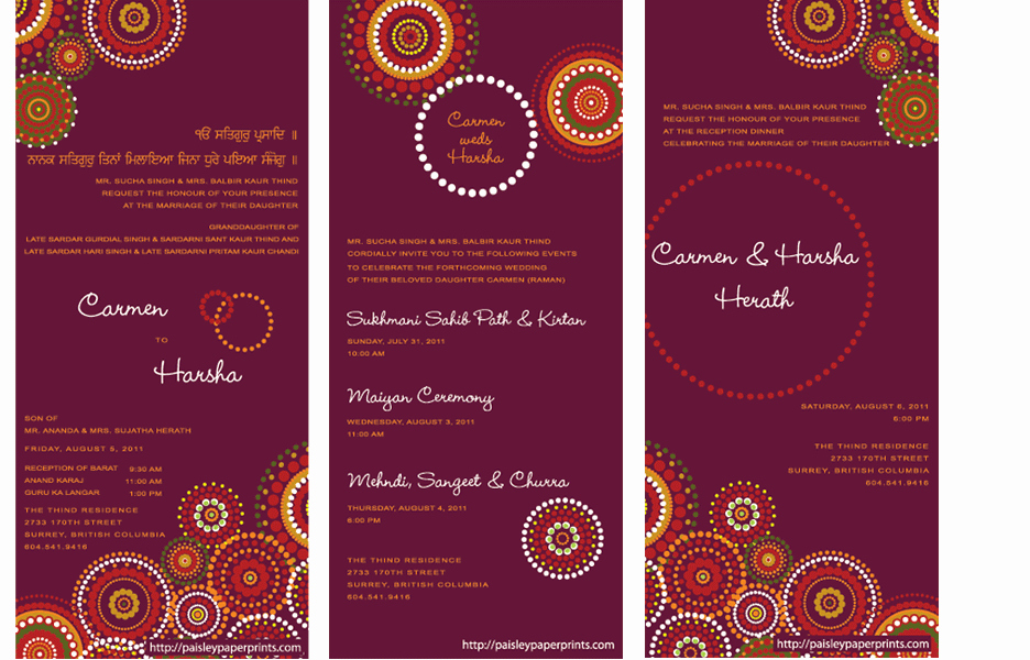 Indian Wedding Invitations Ideas How to Create Indian