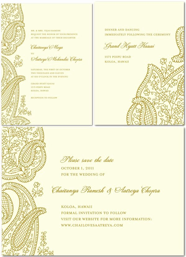 Indian Wedding Reception Invitation Wordings