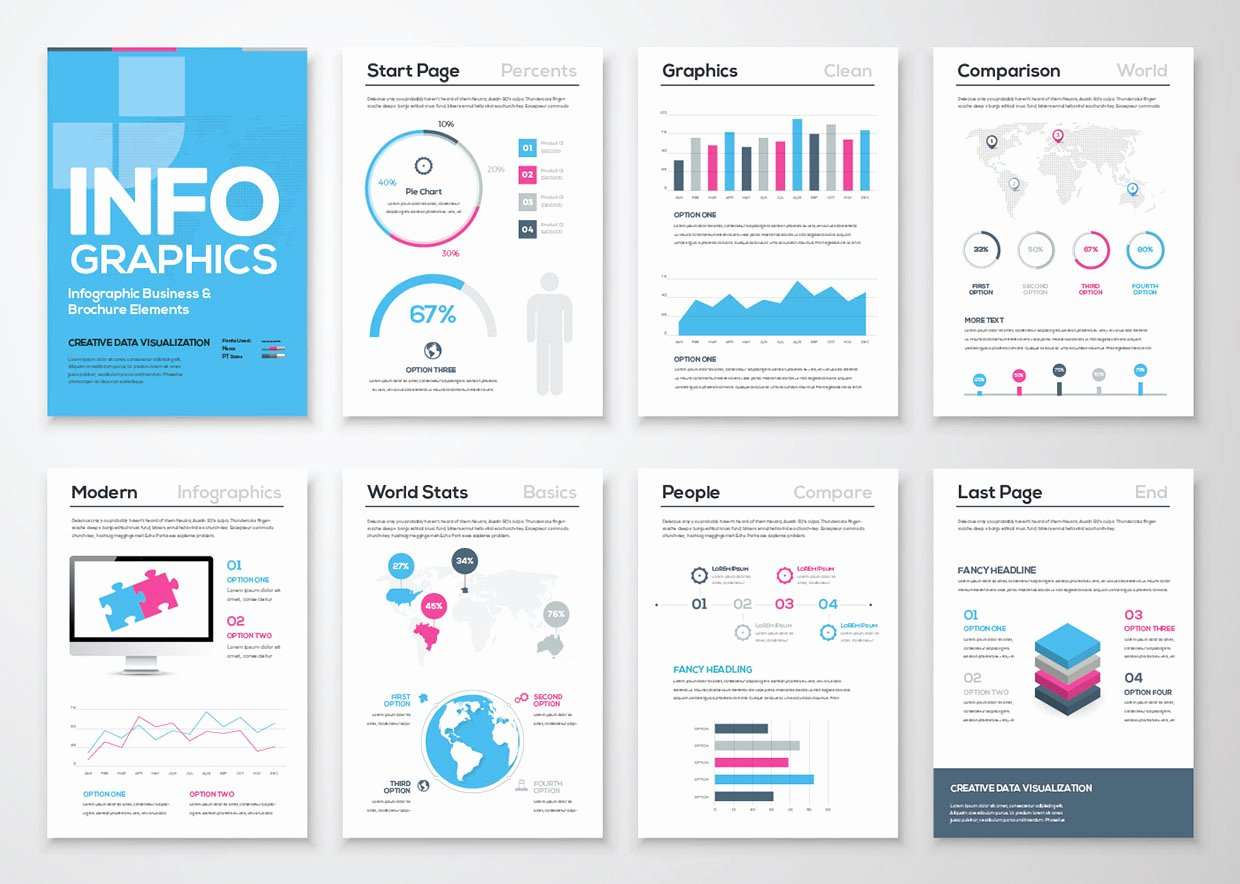 Infographic Free Brochure Template