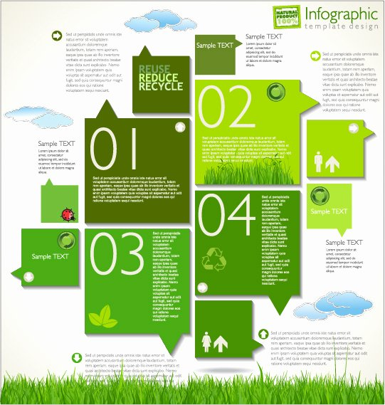 Infographics Cycle Template Free Vector 17 668