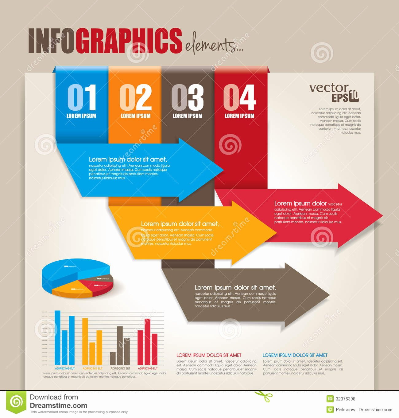Infographics Elements Royalty Free Stock S Image